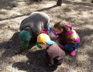 toddlers-hand-lens-on-ground