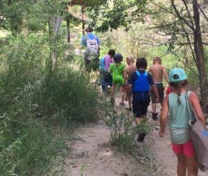 NRCP hiking campers